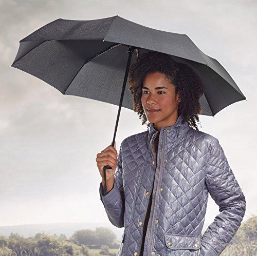 Amazon: Paraguas automático de viaje Amazon Basics