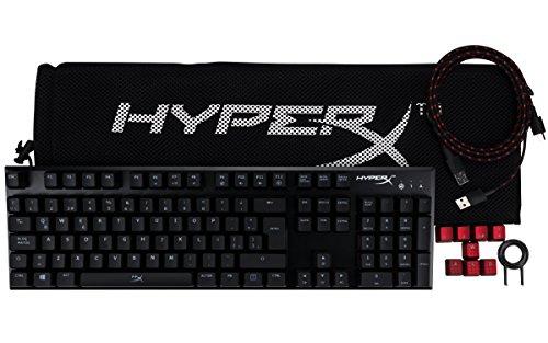 Amazon MX: HyperX Alloy FPS - Teclado Mécanico Gaming con Switches Cherry MX Blue