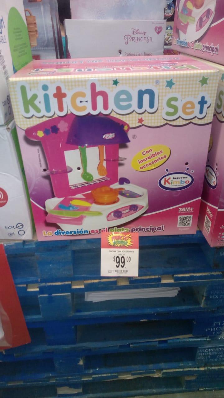 Bodega Aurrerá tuxtla: juguetes kitchen set