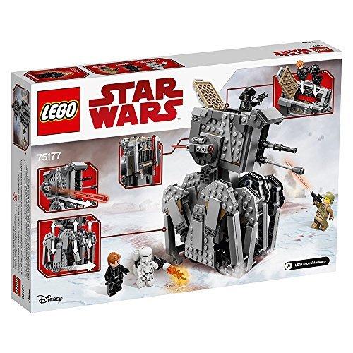 Amazon LEGO Juego de Construcción Star Wars First Order Heavy Scout Walker