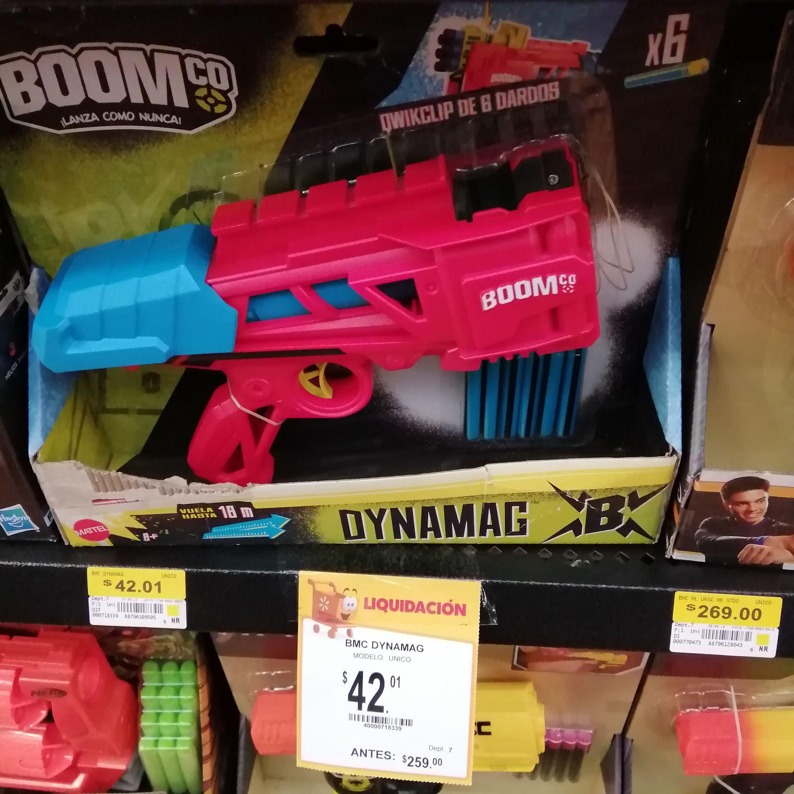 Walmart Boom dynamag lanza dardos hasbro