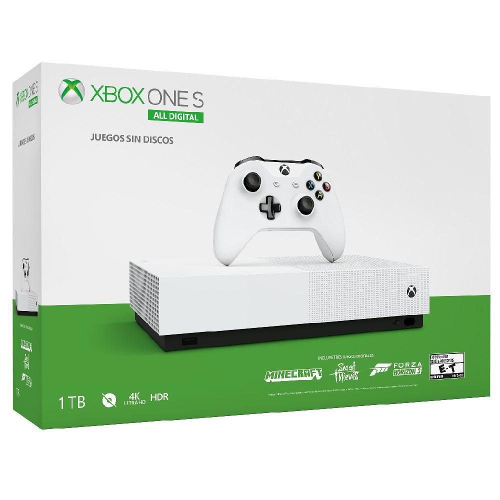 elektra Consola Xbox One S 1TB All-Digital Edition Pagando con la app de banco azteca