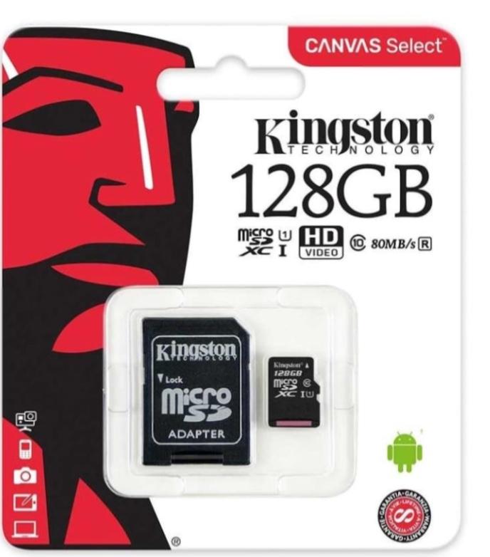Walmart: Memoria Micro SD 128 GB KS