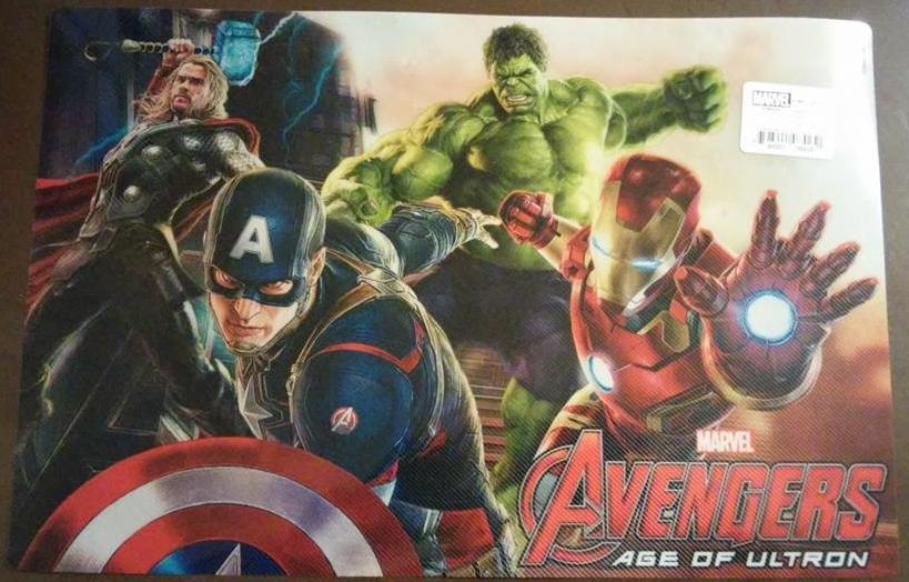 Bodega Aurrerá: tapete Avengers 1.03