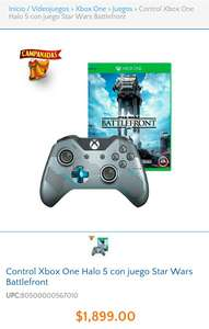 Walmart: Star Wars Battlefront mas control halo 5 Xbox One