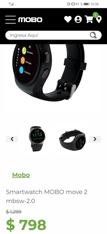 Mobo: Smart watch mobo