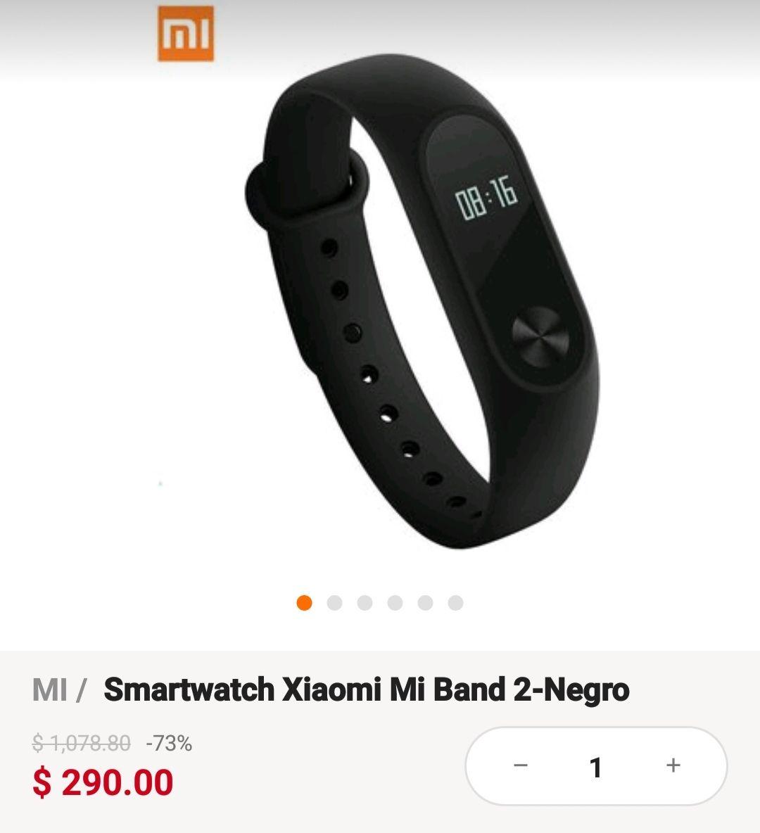 Linio Xiaomi Mi Band 2