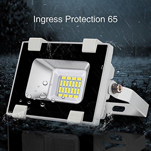 Amazon: Viugreum reflector exterior 10 w Blanco frio IP65