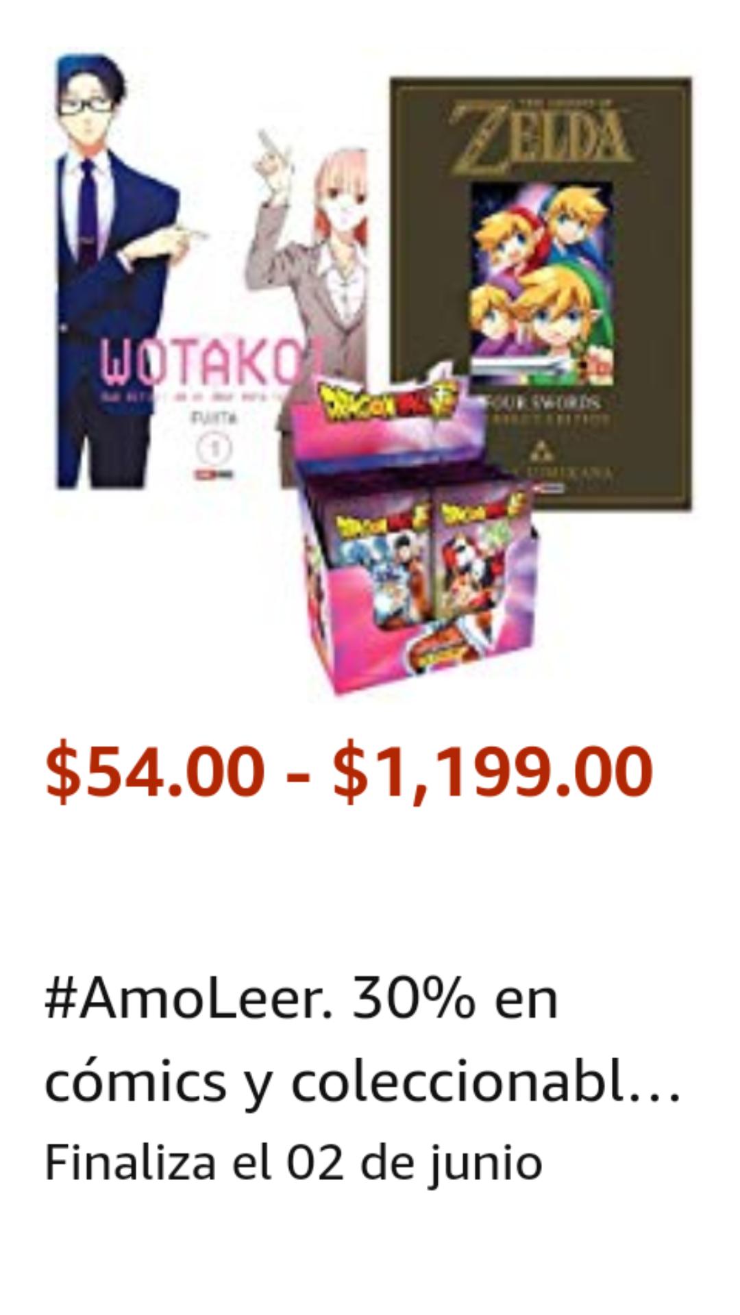 Amazon: Panini Oferta Hot Sale 30% Descuento en Cómics y Coleccionables +10% adicional promoción tarjetas de Hot Sale en caso de que aplique