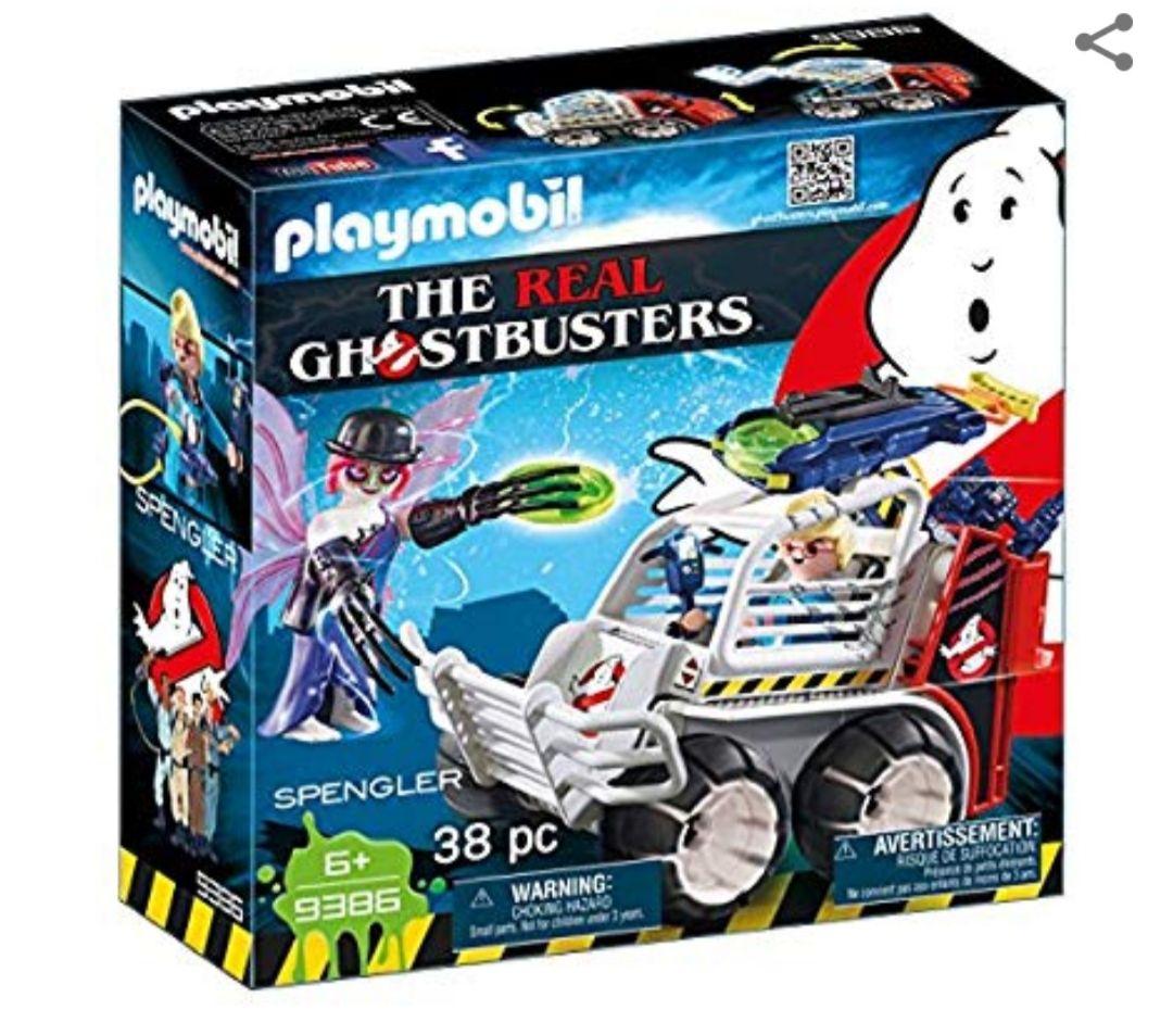 Amazon: Playmobil Ghostbusters: Spengler con Coche