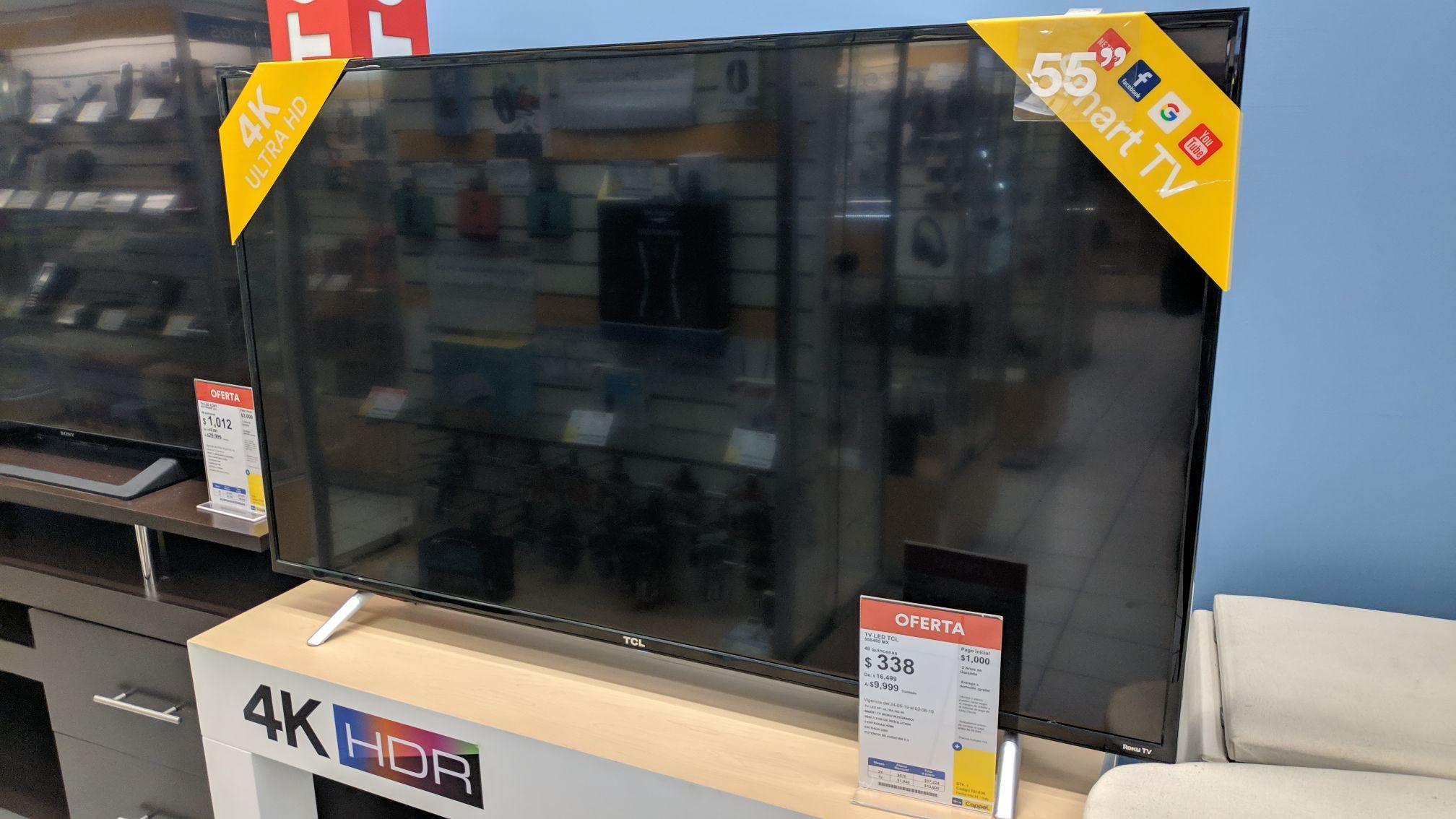 Coppel: TV LED TCL  55''