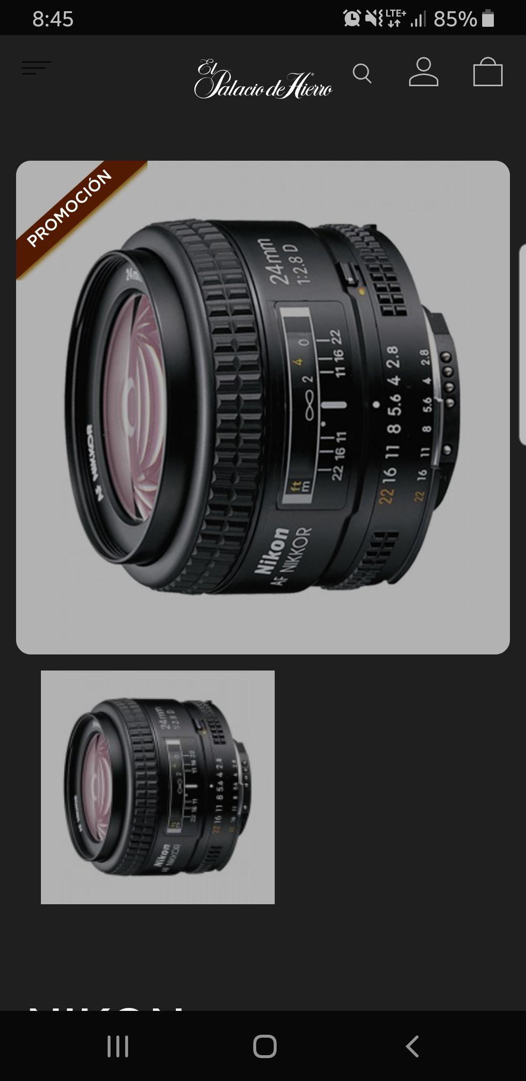 Nikon 24 mm 2.8D