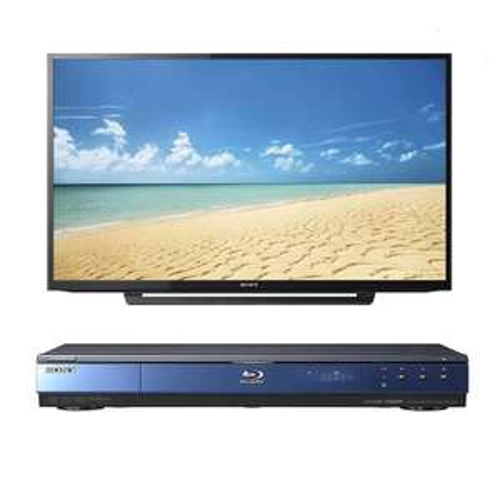 Elektra: Pantalla LED Sony 40 Pulgadas Full 40R370C más Blu-ray Sony BDP-S350 (Pagando con citibanamex)