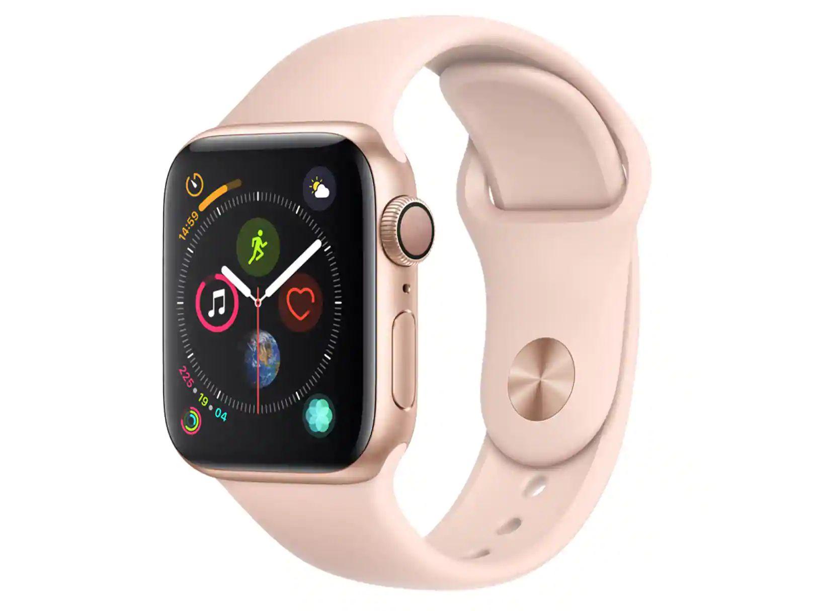 En liverpool Apple Watch Series 4 40mm Rosa con tarjeta de crédito Bancomer