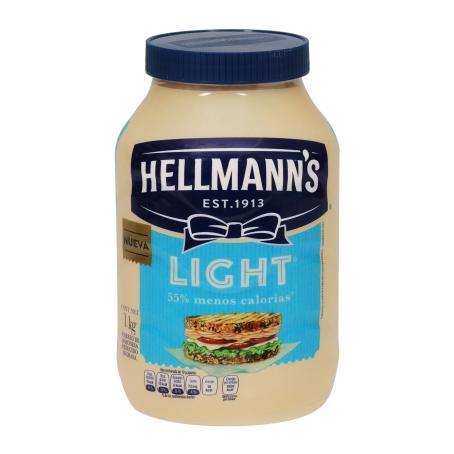 Sam's Club: Mayonesa Hellmann's Light de 1 kg   2 x $80.00