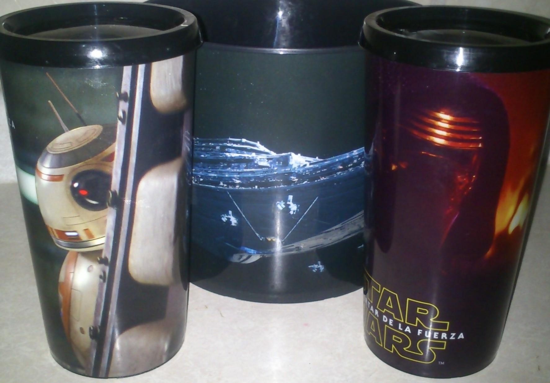 [Cinemex] Combo Star Wars Episode VII $145