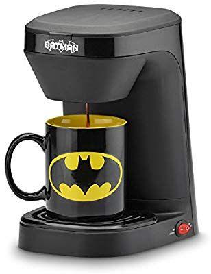 Amazon: DC Comic Batman único Serve Cafetera eléctrica.