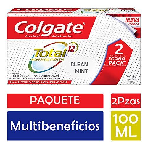 Amazon: Colgate 2 Pastas Total Clean Mint comprando 4 paquetes con Carrito del Ahorro