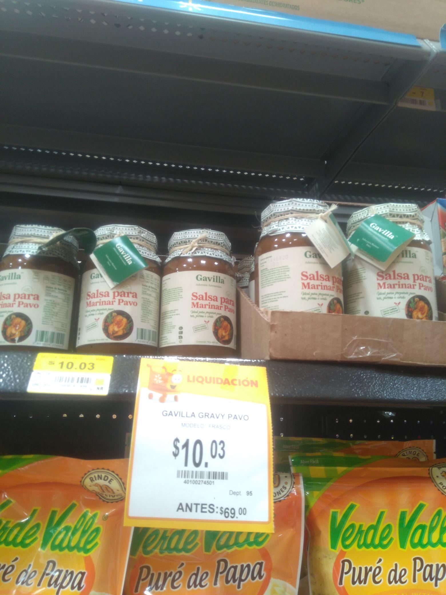 Walmart: Salsa para marinar Gavilla