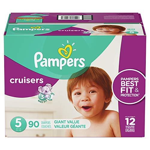 Amazon: Pampers Cruisers Pañales Etapa 5,  90 Piezas