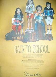 Back to school en Palacio de Hierro