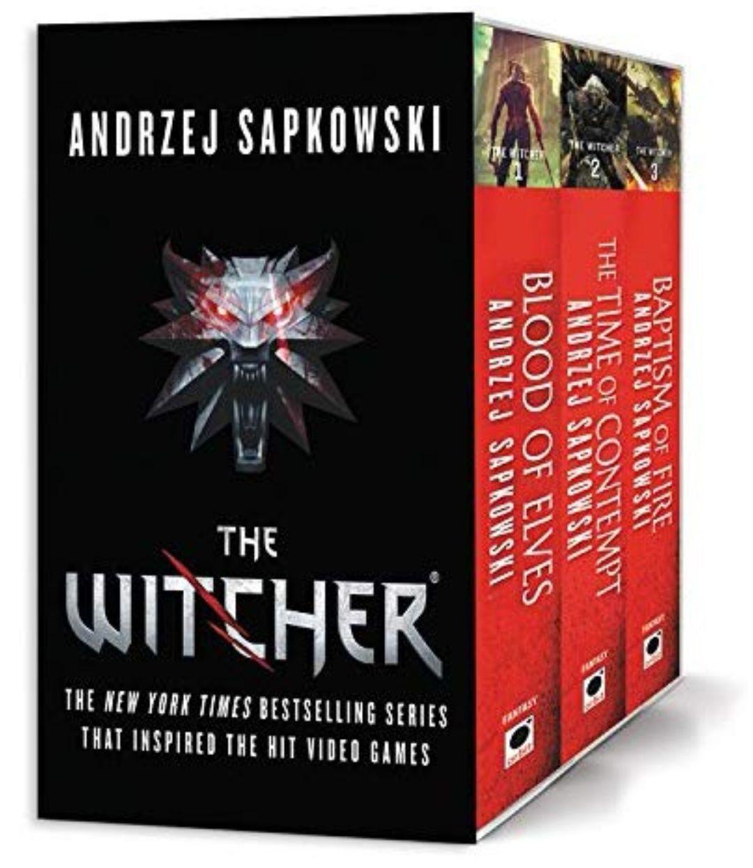 Amazon: Set de los 3 libros de the witcher