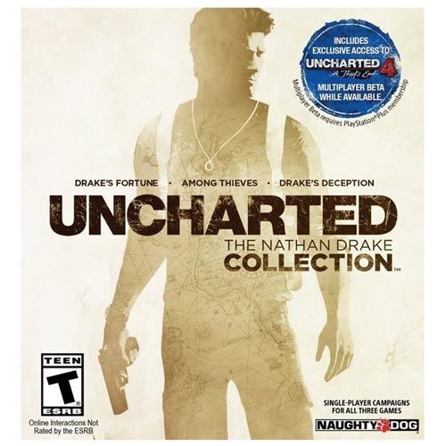RAKUTEN: Uncharted: The Nathan Drake Collection para PS4- Código Digital