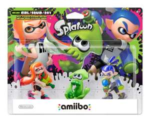 Amazon: Amiibo Splatoon - 3 Pack