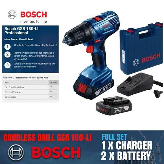 Bosch en línea: Rotomartillo  con maletín