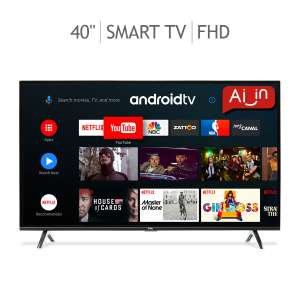 """Costco: TCL LED 40"""" Smart TV (Android TV) FHD"""