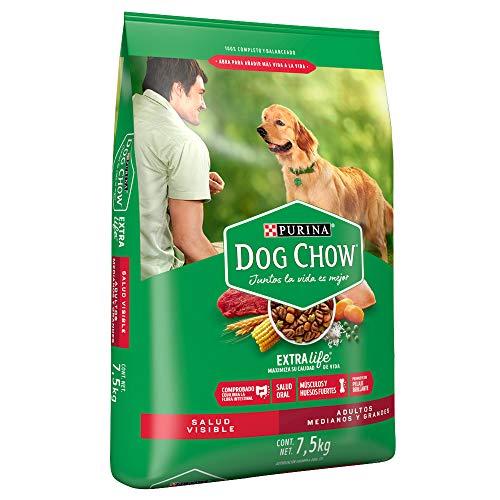 Amazon: Dog Chow 7.5kg Perro adulto Medianos y Grandes vendido y enviado por amazon Mexico