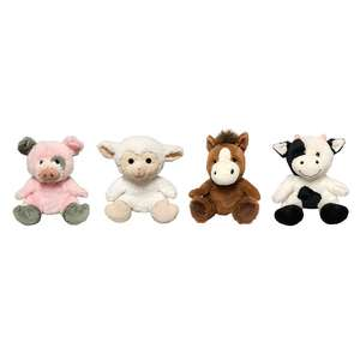 Costco: animales de peluche (4 piezas) (varios modelos)