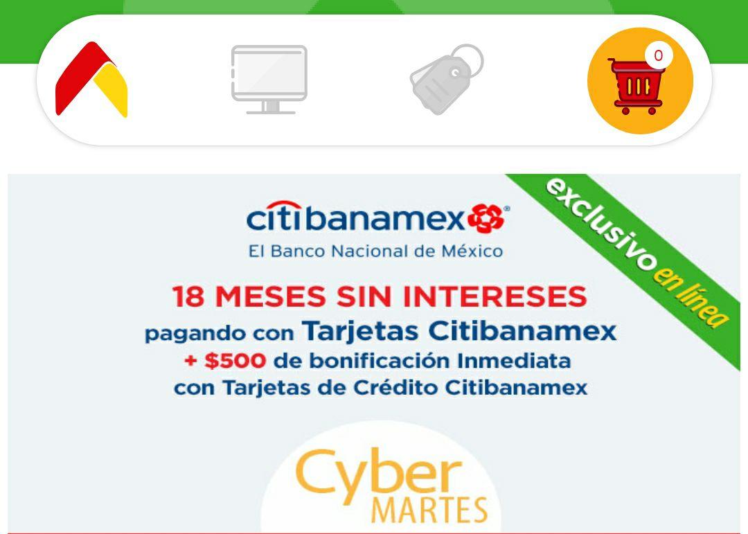 Bodega Aurrera app: Cyber Martes $500 pesos de descuento en compra mínima de $5,000