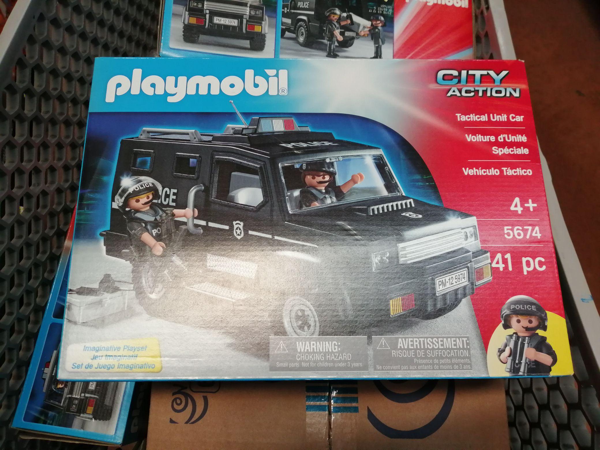 Walmart: Playmobil Swat City Action.