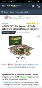 Amazon: Monopoly Zelda