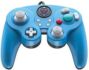 Amazon Nintendo Switch Legend of Zelda Link GameCube Style Wired Fight Pad Pro Controller by PDP, 500-100-NA-D2 - Standard Edition