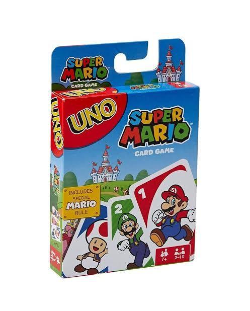 Walmart: Juego de cartas Super Mario