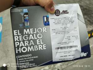 Farmacias Guadalajara: Set Gillette Match 3