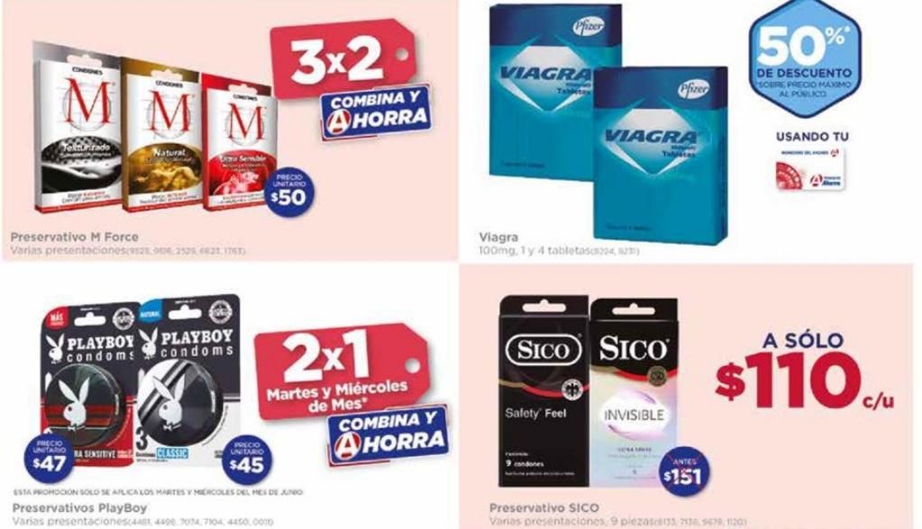 Farmacias del Ahorro: Condones PLAYBOY 2X1 martes y miércoles