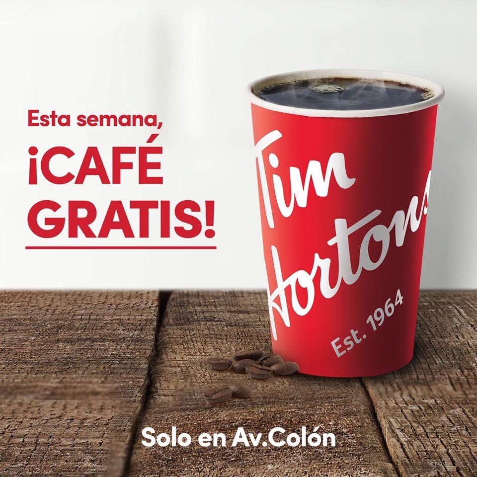 Tim Hortons Av Colón en Monterrey: Café Gratis