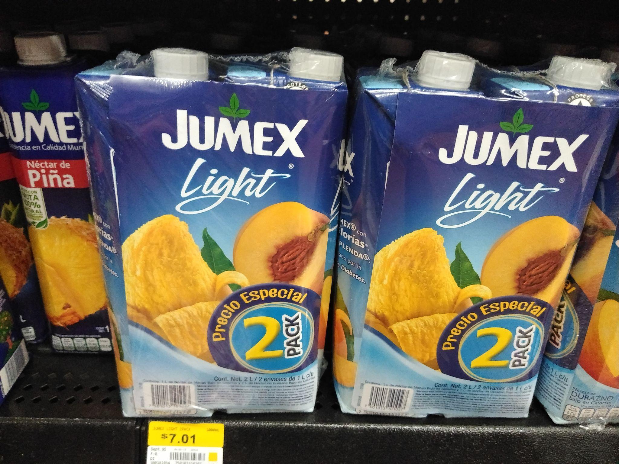 Walmart Río de los Remedios: Pack de 2 Jumex de $49.90 a solo $7.01