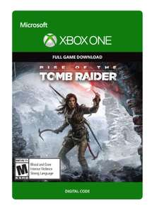 Amazon: Rise of tomb raider para xbox one digital y fisico