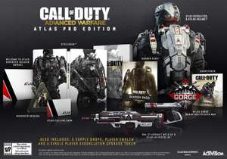 Amazon Mexico (importado): Call of Duty Advanced Warfare Atlas PRO Edition PS3