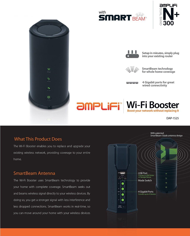 Amazon MX - D-Link DAP-1525 Dual Band Wi-Fi Gigabit Extensor de señal Wi-Fi