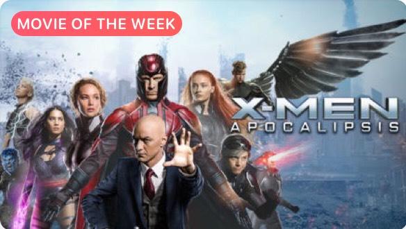 iTunes película de la semana: X-men Apocalipsis.