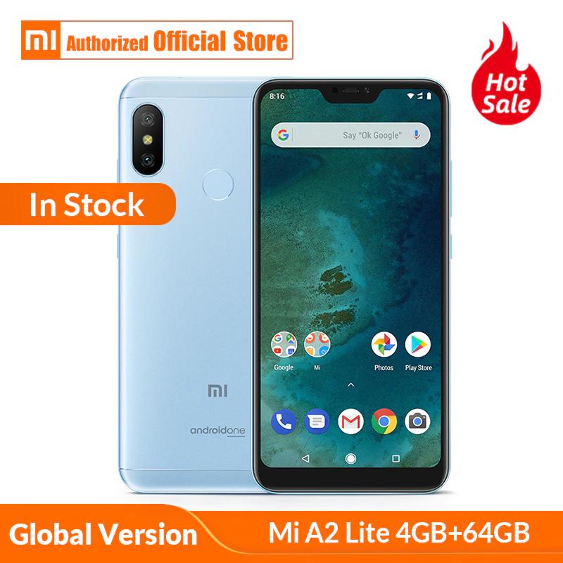 Aliexpress:Xiaomi mi A2 LITE Global android 9 one  4.5G+ 4Gb RAM 64Gb