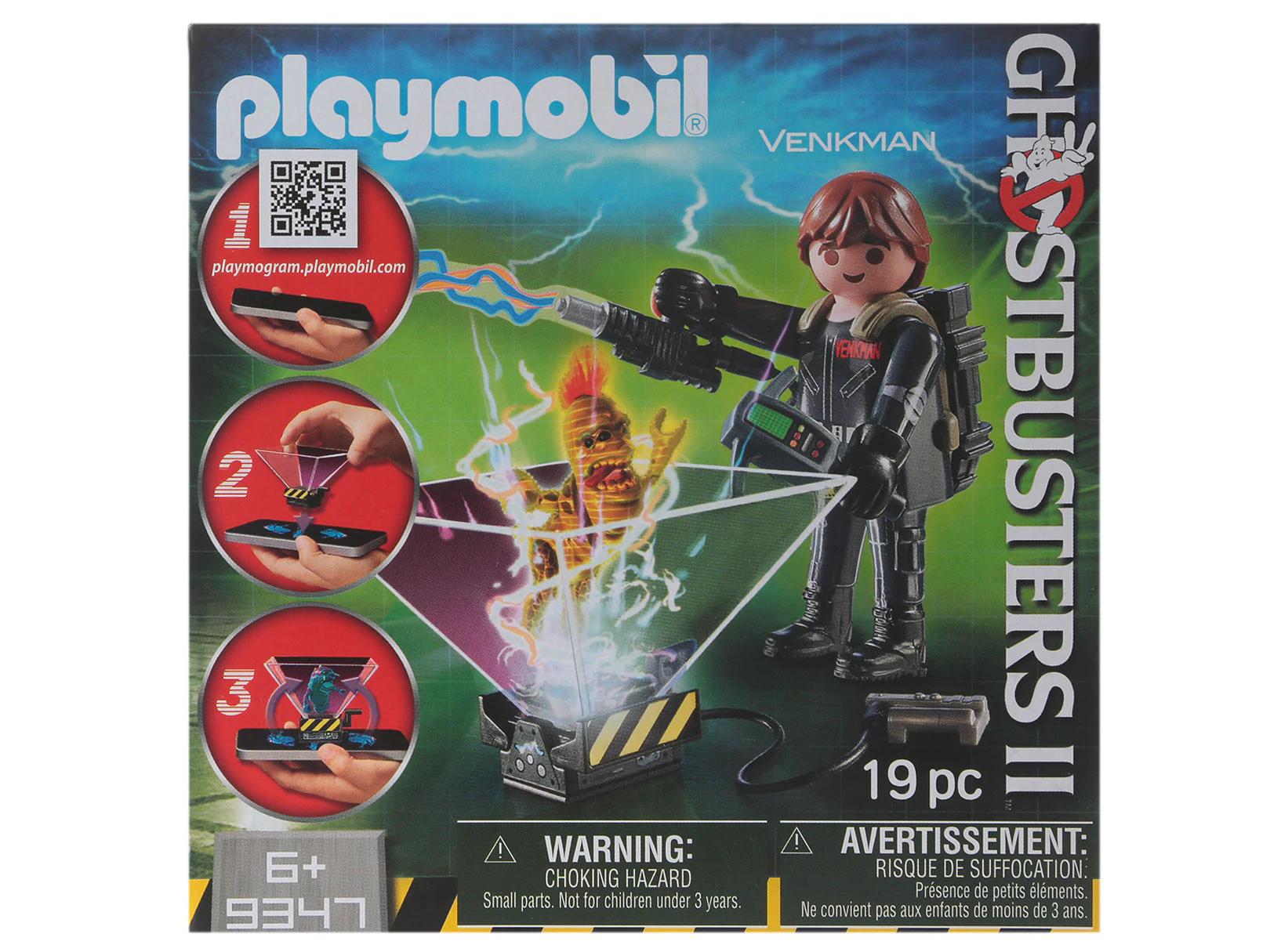 Liverpool: Figura Armable Venkman Playmobil Ghostbusters II