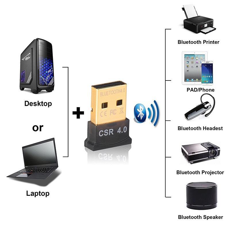 AliExpress: Adaptador Receptor portátil de Bluetooth USB 4,0 inalámbrico, Chip CER. Para ordenador
