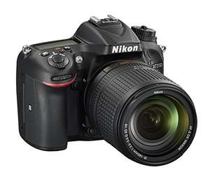 Amazon. Nikon D7200 DX-format DSLR Body (Black)