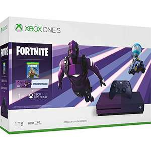 Amazon: Consola Xbox One S, 1TB + Fortnite Battle Royale - Special Edition